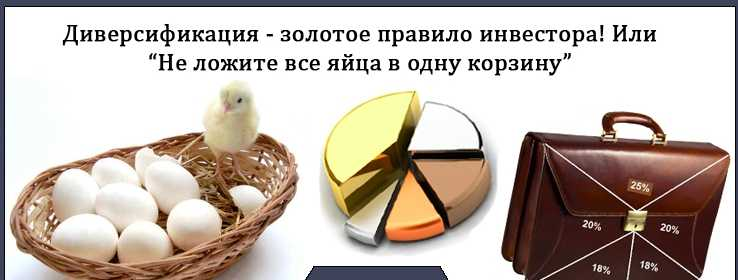 Яйца в разных корзинах
